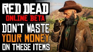 Don't Buy These Items In Red Dead Online | RDR2 Online Worst Items To SPEND MONEY On
