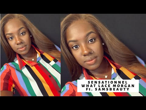 "WIG SLAYAGE| SENSATIONNEL WHAT LACE ""MORGAN"" WIG REVIEW 