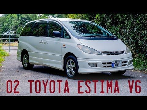 2002 Toyota Estima V6 AWD G Aeras Goes For A Drive