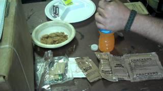 A Look At Mres Menu 7 Meatloaf W/gravy