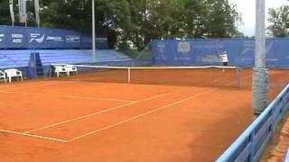 Jovan Zeljkovic - college tennis recruting video 2010 part #2