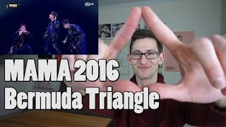 [2016 MAMA] ZICO Bermuda TRIANGLE Reaction (ft. Crush, DEAN)