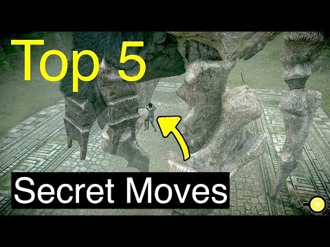 Shadow of the Colossus Cheats and Secrets - Shadow of the