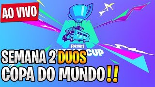 FORTNITE WORLD CUP (SEMANA 2 - DUOS) ft. Molish DELAY ON