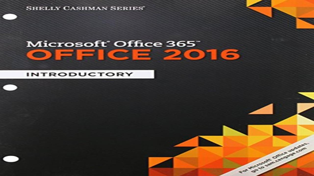 Microsoft Office 365 And Office 2016 Introductory Furniture Design