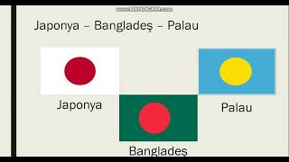 Birbirlerine Benzeyen Ülke Bayrakları