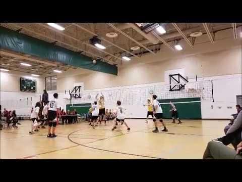 Garth Webb SS Junior volleyball highlights 2016