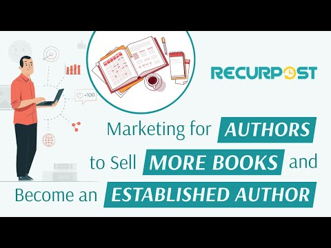 Marketing For Authors To Sell More Books And Become An Established Author