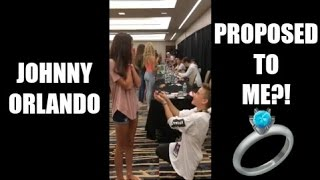 johnny orlando proposed to me playlist live 2016