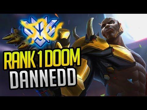 BEST OF DANNEDD - RANK 1 WORLD DOOMFIST | (Overwatch Esports Facts & Highlights)
