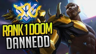 BEST OF DANNEDD - RANK 1 WORLD DOOMFIST | (Overwatch Esports Facts u0026 Highlights)