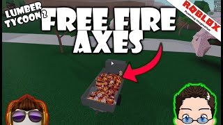 Roblox - Lumber Tycoon 2 - Free Fire Axes