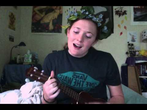 Red is the Rose Irish folk song on ukulele