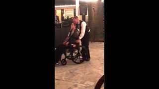 Mother's dying wish, makes it to her son's wedding for mother/son dance