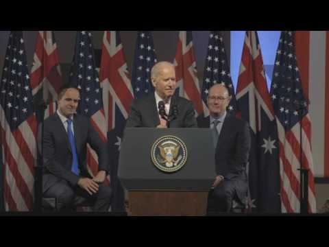 US Vice President Joe Biden's speech on the US-Australia alliance