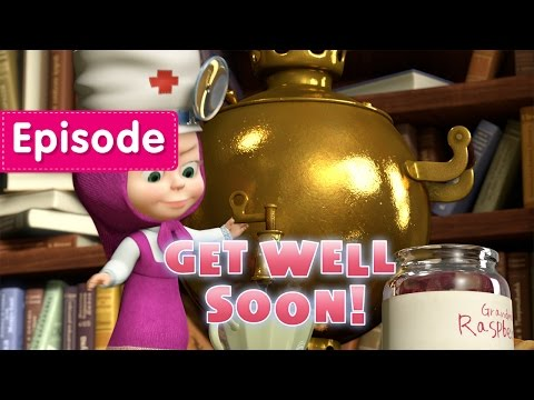Masha and The Bear - Get well soon! (Episode 16)