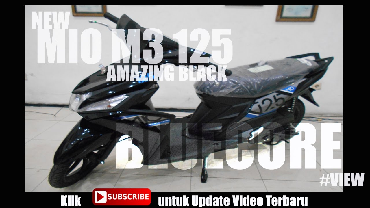 New Mio M3 125 Hitam Review