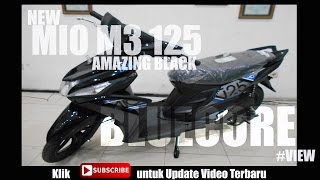 New Mio M3 125 Hitam  #Review