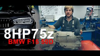 Разбор АКПП от F15 50D / 8hp75z