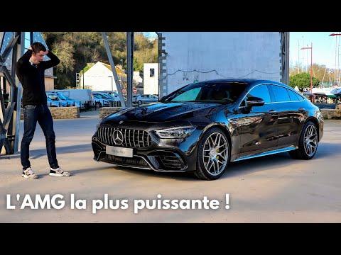 L'AMG la plus puissante jamais produite ! Mercedes-AMG GT 4 Portes