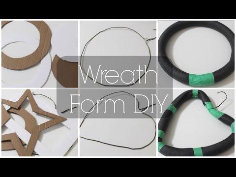 DIY Wreath Forms ♡ {The Basics} ♡ Jessica Joaquin