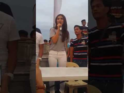Sanya Lopez FB live for Oxy Bright at San Miguel Bulacan part 3 of 3
