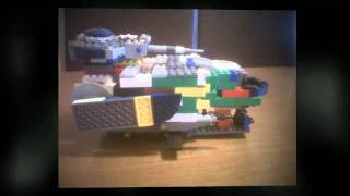 Lego Creations, Building Lego, Star Wars Battleship, Build Your Own Lego