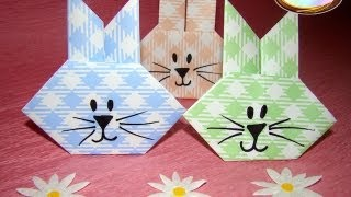 Repeat youtube video Origami Maniacs 111: Easter Bunny
