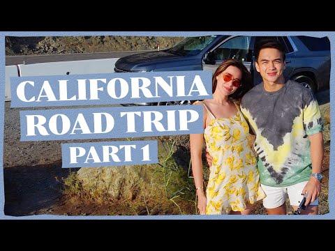 CALIFORNIA ROAD TRIP PART 1 (USA TRAVEL VLOG) | Bea Alonzo