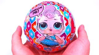 #LOL SURPRISE Giant Ball LOL BIG FAKE Dolls Новый Китайский БОЛЬШОЙ ЛОЛ ДЕШЁВАЯ Подделка Кукла Шаре