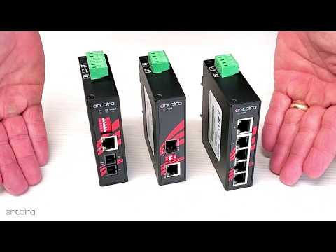 Compact 8-Port Industrial Ethernet Switches (LNX-C800/G Series)