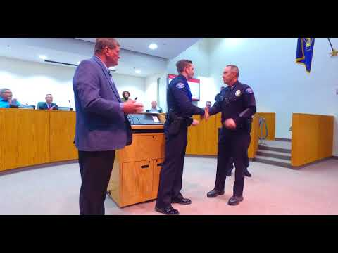 Lifesaving Award - Officer James Berger