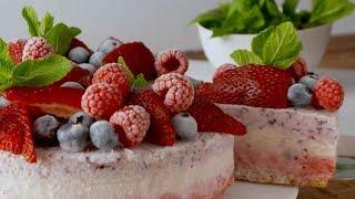 Frozen Smoothie Cake