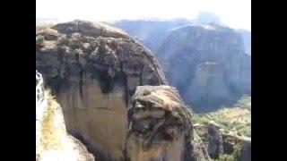grecja,meteory,klasztor na skale/Greece , meteors monastery on the rock/Griechenland, Meteore