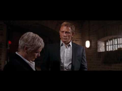 M asking if she can trust Bond   Quantum of Solace   James Bond 007 (Daniel Craig)