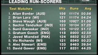 Cricket   Brian Lara Becomes Leading Test Run Scorer 26 11 2005 xvid