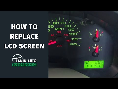 DIY Repair for 2004-2008 Ford F150 Instrument Cluster Display with Replacement LCD Screen | TAE