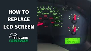 How to Remove 2004-2008 Ford F-150 Gauge Cluster with