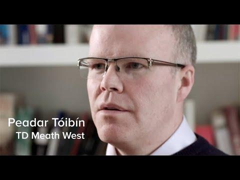 """I nearly aborted my grandchild."" Peadar Tóibín tells constituent's story [CC]"