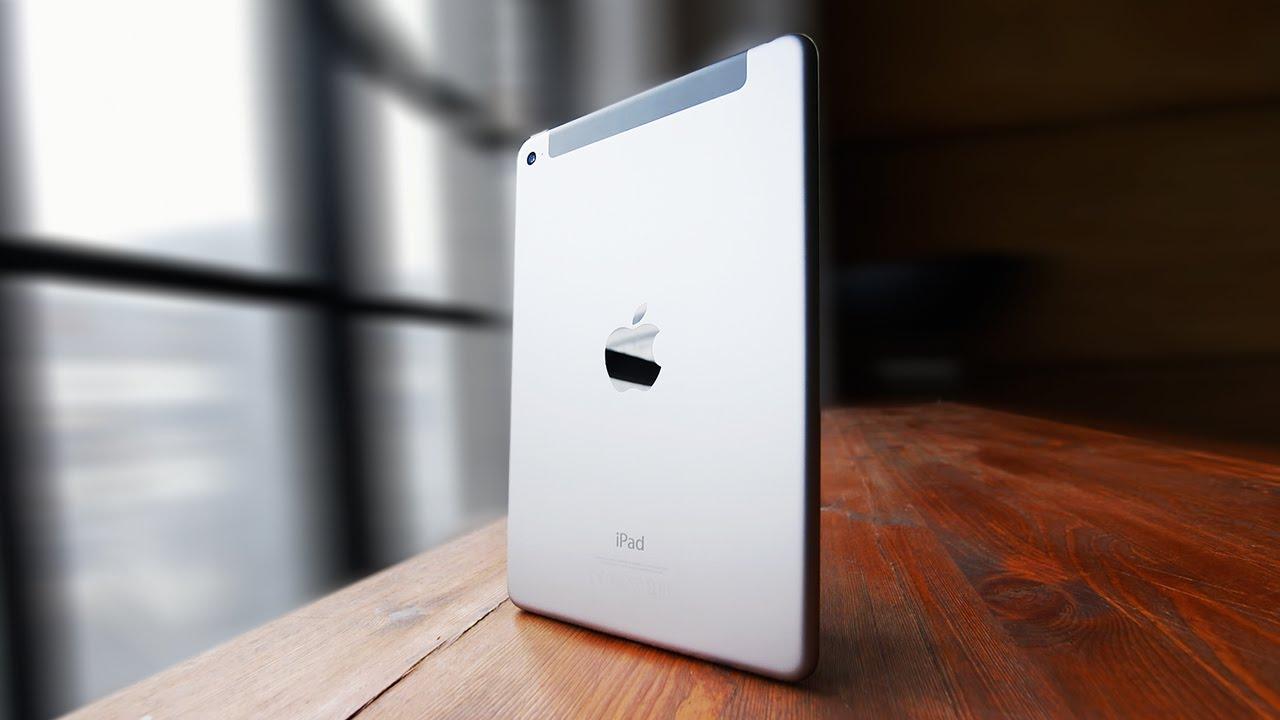 Обзор планшета Apple iPad mini 4 - YouTube