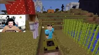 SI te ries PIERDES nivel Minecraft (Reaccionando)