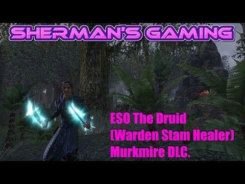 ESO The Druid (Warden Stam Healer) Murkmire DLC.