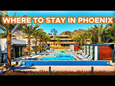 Where to Stay in Phoenix (Plus Scottsdale hotels too!)