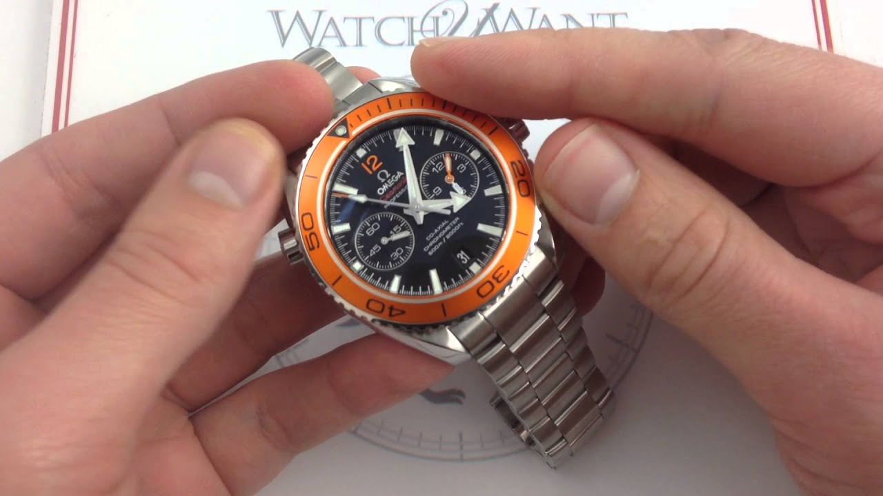planet ocean 600m omega co-axial chronograph 45.5 mm review