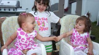 Happy 18 Month Birthday My Twins!  Pictures & Video Including Butterfly Kisses & The Birthday Song.