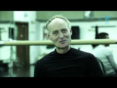 "Pal Frenak. A guest in Kosice ballet. "" WORKSHOP WITH.."" State Theatre of Kosice"