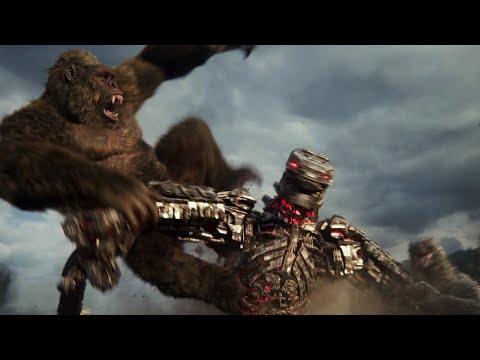 Download Godzilla vs. Kong - Kong & Godzilla vs. MechaGodzilla Fight Scene
