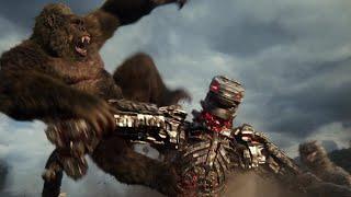 Godzilla vs. Kong - Kong & Godzilla vs. MechaGodzilla Fight Scene Thumb