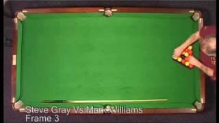 8BallTV Mark Williams VS Steve Grey FRAME 3 ANZAC 2007