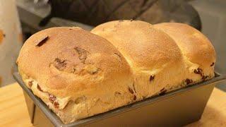 무반죽 보들보들 크랜베리 통밀식빵 (필요한 건 시간뿐!…